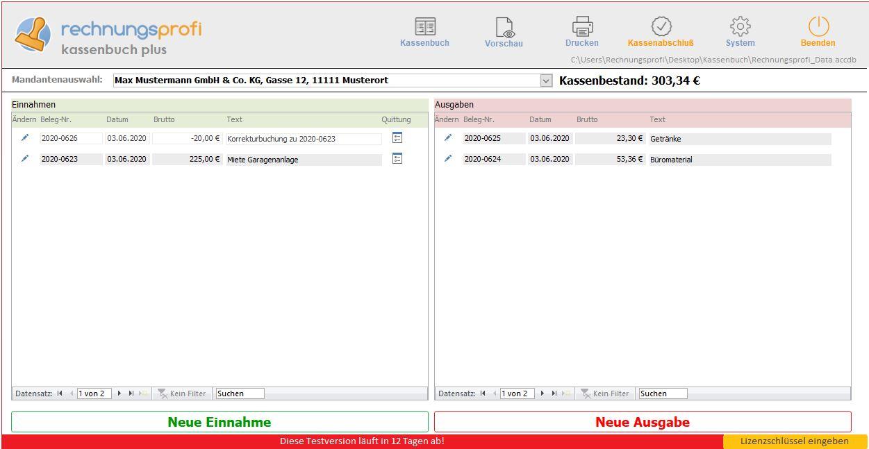 Software Kasenbuch